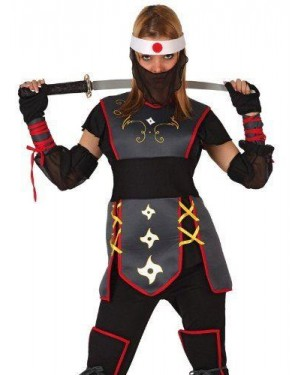 Costume Da Guerriera Ninja T-2
