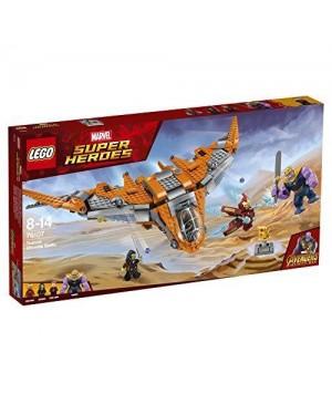 LEGO 76107 lego marvel thanos: battaglia finale