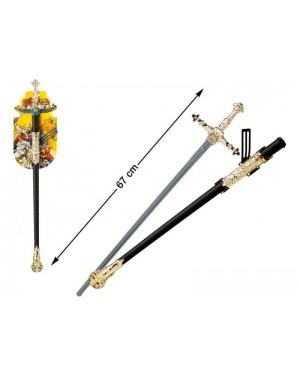 ATOSA 25702 spada guerriero con guaina 67 cm