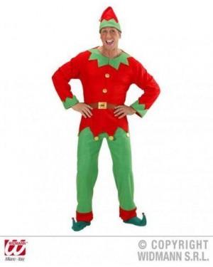 Costume Elfo S Uomo Aiutante Di Babbo Natale