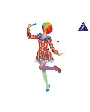Costume Clown Donna M-L