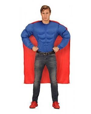 Camicia Super Muscoli M Superman +Mantello