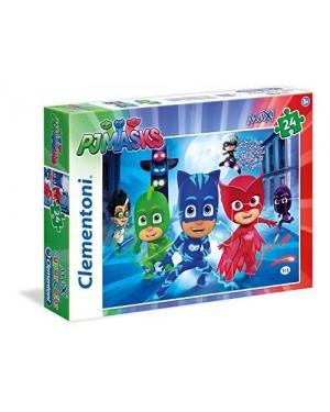 CLEMENTONI 24488 puzzle maxi 24pz pj masks