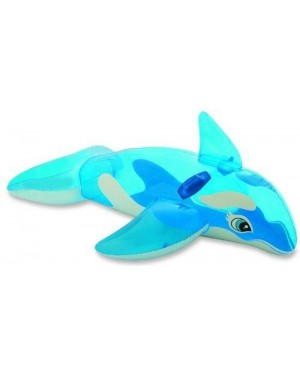 INTEX 58523 orca gonfiabile trasparente cm 163x76