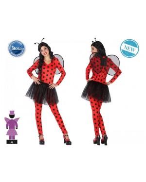 ATOSA 54241 costume coccinella t-1