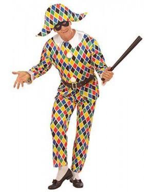 WIDMANN 57791 costume arlecchino in raso s