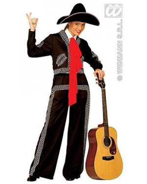 Costume Mariachi Donna M Flamenco Messicana