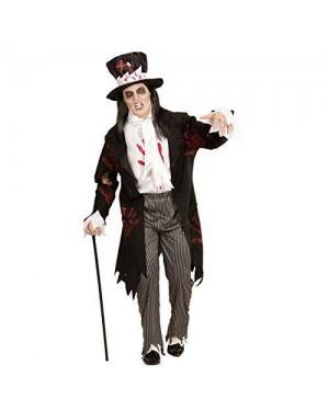 WIDMANN 05942 costume sposo zombie m frac con camicia, pantaloni
