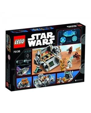lego 75136 lego star wars capsula di salvataggio droid