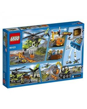 LEGO 60123 lego city volcano explorers elicottero dei riforni