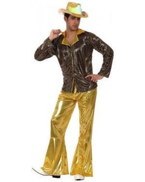 Costume Disco Dorato, T.3