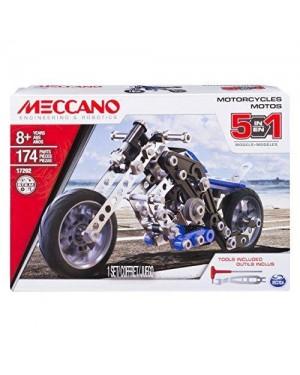 SPIN MASTER 6036044 MECCANO MULTI MODELLO 5 - MOTOCICLETTA