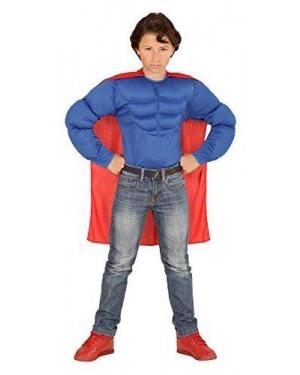 Camicia Super Muscoli 11/13 Superman +Mantello