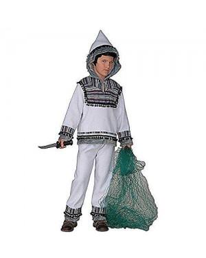 Costume Eschimese 11/13 158Cm Casacca Con Cappucci