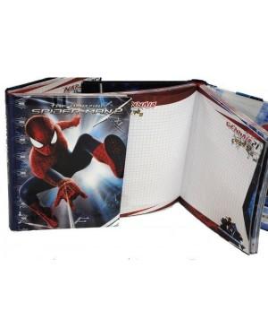 seven 504001401 diario grande 10 mesi amazing spiderman