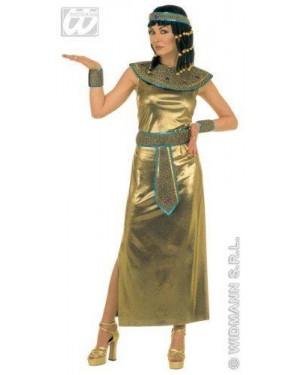 Costume Cleopatra L Vestito,Collare E Cint