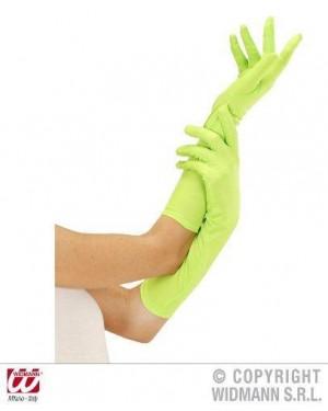 widmann 9502g guanti neon verde lunghi
