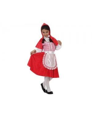 Costume Da Cappuccetto Rosso. 4-6 Anni.