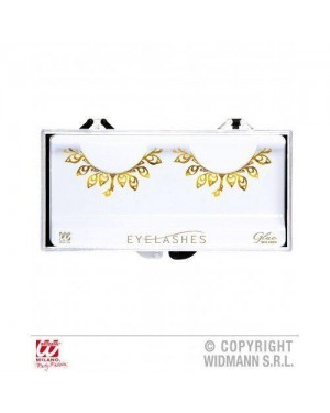 widmann 9853g ciglia fashion tattoo oro in scatola con colla in