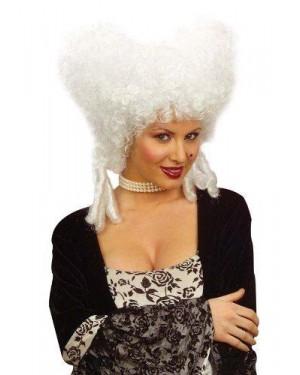 widmann 6323w parrucca nobildonna barocca bianca