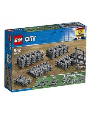 LEGO 60205 lego city trains binari