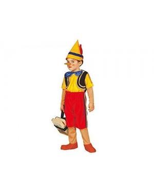 WIDMANN 01150 costume pinocchio 3/4 4/5