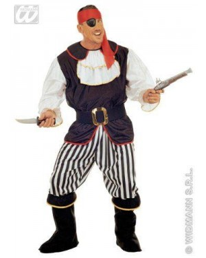 Costume Pirata Xl Con Accessori