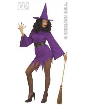 Costume Strega Viola M