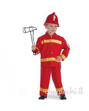 Costume Pompiere Tg.Vii In Busta