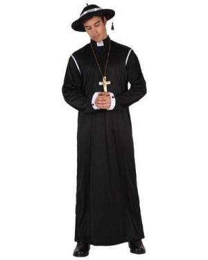 ATOSA 6061 s-c/costume da sacerdote  t2 m\l