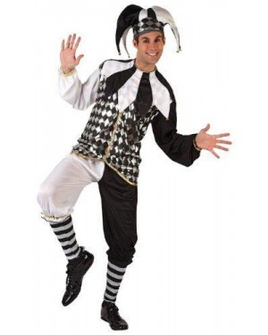 Costume Da Arlecchino T2 M\L