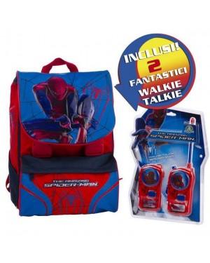 giochi preziosi 12443 zaino estens.medium spiderman con walkie talkie