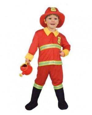 Costume Baby Pompiere 6/8 Anni
