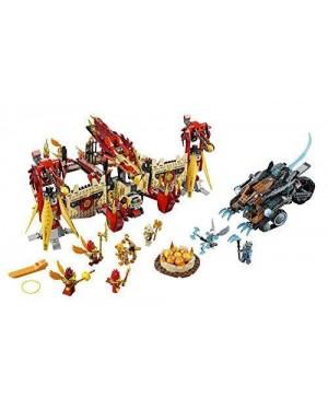 lego 70146 lego chima tempio di fuoco della fenice volante