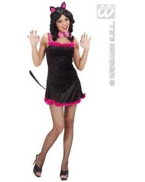 Costume Kitty Kat S Vestito Con Coda,Farfall
