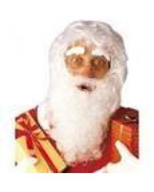 WIDMANN 1518S parrucca babbo natale +maxi barba baffi sopprac.