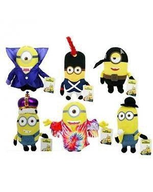 pts 9216d peluche cattivissimo cm 50 minion movie vestiti so