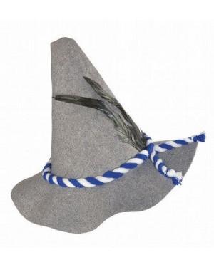 widmann 8523b cappelli bavarese c/piume in feltro spesso