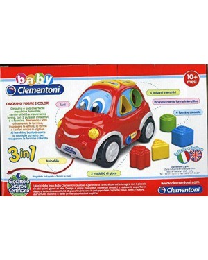 clementoni 146925 cinquino forme e colori