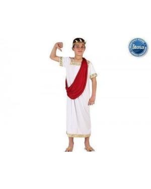 Costume Da Romano Bambinot4 10-12 Anni