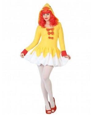 Costume Pulcino Sexy Adulto T1 Xs\S