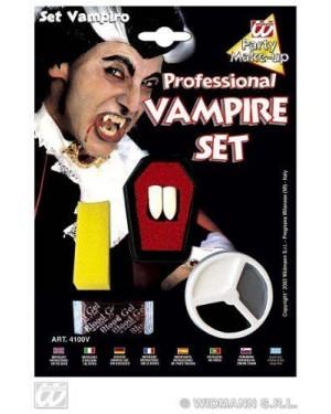 widmann 4100v set trucco vampiro con denti professionali