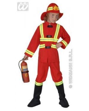 Costume Pompiere Con Luce 8/10 Cm 140