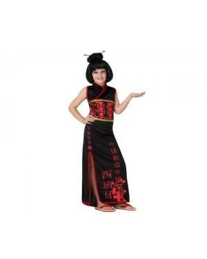Costume Cinese Bambina T-4 10/12