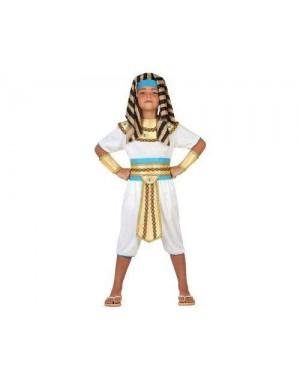 ATOSA 23298 costume egiziano 5-6 bianco-oro