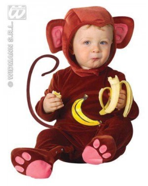 Costume Scimmietta 1/2 Anni