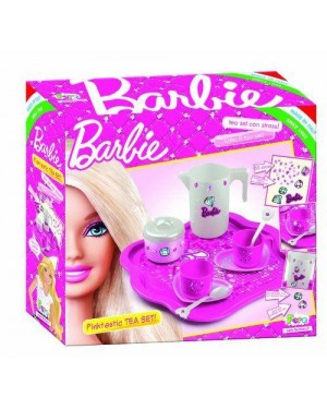 faro 2722 barbie coffee set con vassoio e strass