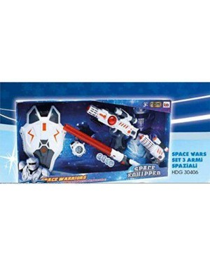 giocheria hdg30406 space wars - set 3 armi spaziali