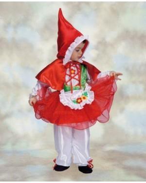 Costume Cappuccetto Rosso 3-4