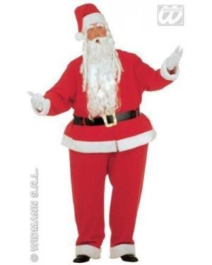 Costume Babbo Natale Xl Con Cerchio 160Cm Vita
